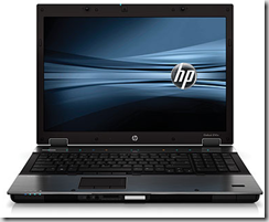 Hewlett Packard EliteBook 8740w mobile workstation