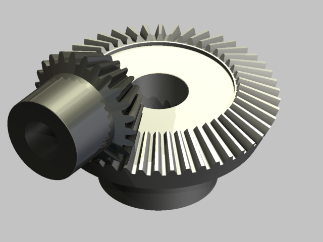 how to turn on the diametral pitch of gear inventor