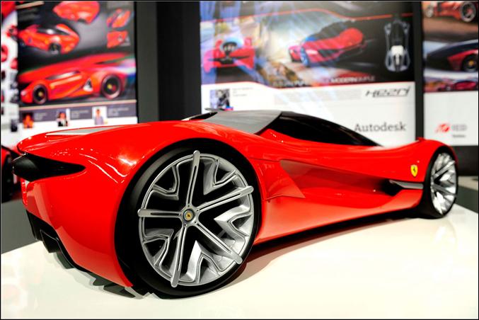 Ferrari World Design Contest 2nd Place Winner - Xezri Model