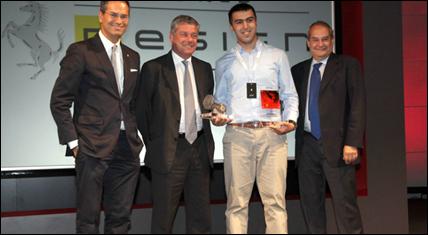Ferrari World Design Contest 2nd Place Winner - IED Turin Italy