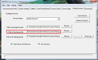 Autodesk Vault Professional 2012 - FlexNet LMTools
