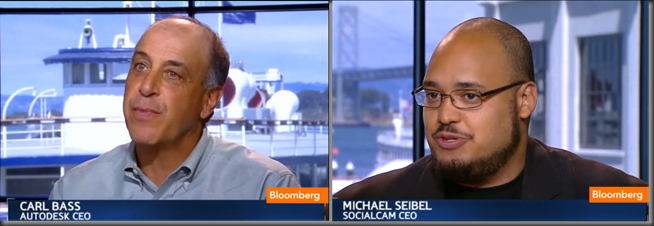 Carl Bass and Michael Seibel Interview at Bloomberg