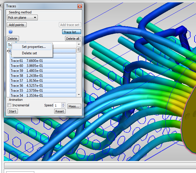 Simulation CFD | Adding Traces to Results