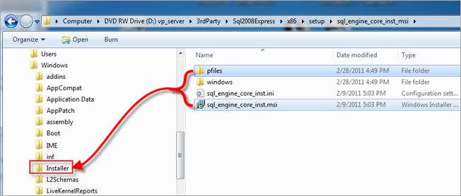 Vault   Error Uninstalling SQL Server 2008