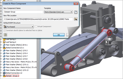 Autodesk Inventor 2013 Assembly Demote
