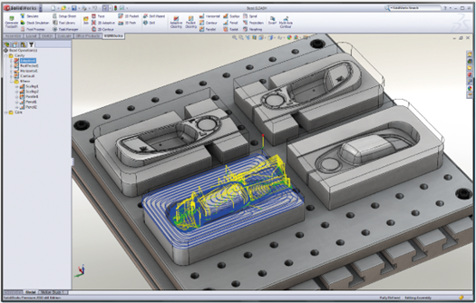 HSMWorks in Solidworks