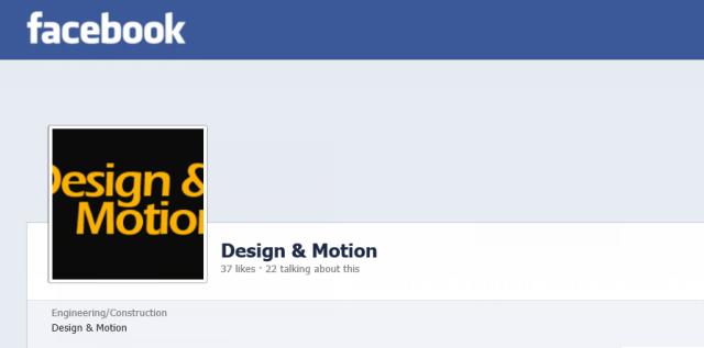 Design & Motion gets more social