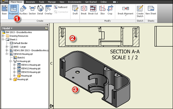 autodesk inventor detailed assembly drawings pdf