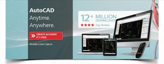 Autodesk AutoCAD 360 Web Site