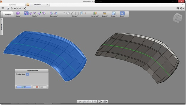 Autodesk Fusion 360 Smooth rough