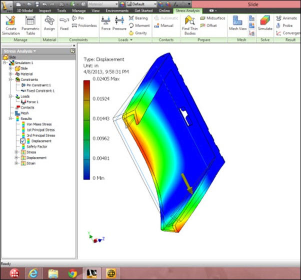 Lenovo Carbon X1 Touch Inventor Simulation
