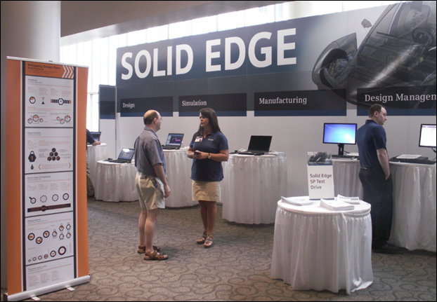 Siemens team at Solid Edge University 2013