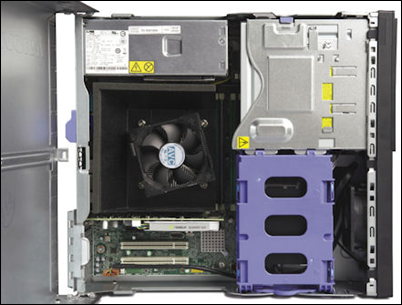 Lenovo E31 SFF ThinkStation Internal View