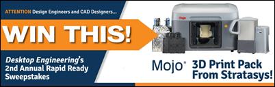 Stratasys Mojo 3D Printer Contest at DE