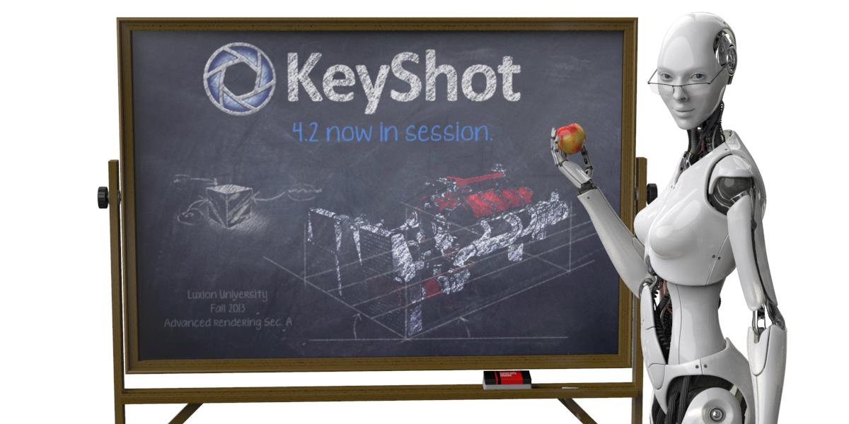 Luxion Announces KeyShot 4.2