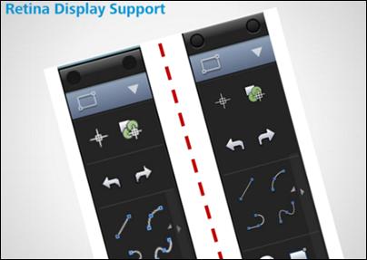 AutoCAD 2014 Mac Retinal Display Support