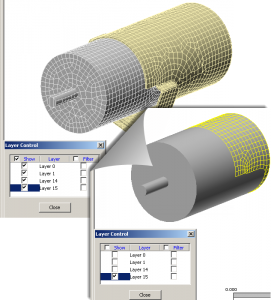 Simulation Mechanical | Contact Layer Tip
