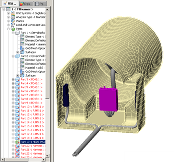 Autodesk Simulation Mechanical model changed in all scenaios