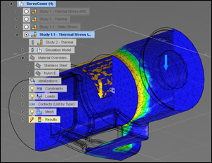 Autodesk Sim 360 Thermal Stress Analysis