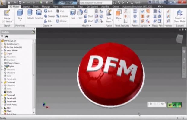 Autodesk Simulation DFM