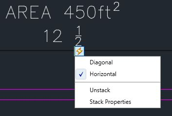 AutoCAD 2015 MTEXT Accessing AutoStack