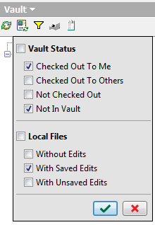 Autodesk Vault 2015 Inventor Add-in Browser Filter