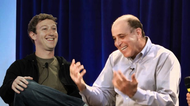 Carl and Zuck Laugh
