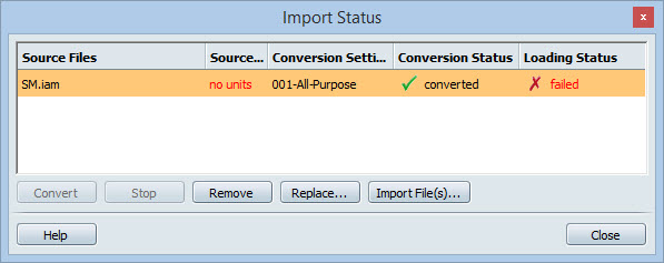 Inventor 2015 to Showcase 2014 import failure