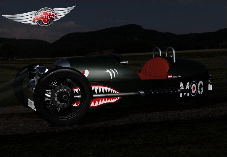 Marco Takx Morgan Motor Company Ad Contest Entry
