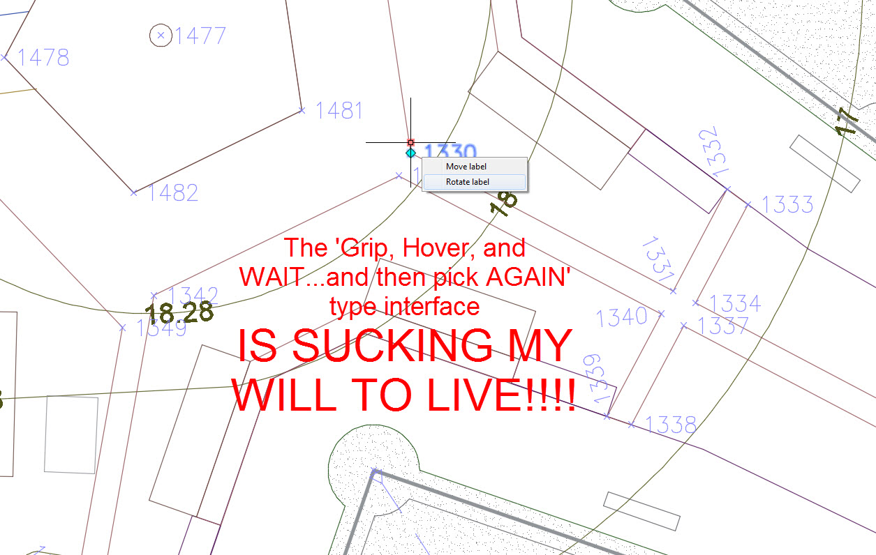 AutoCAD's Wait for it UI Should Be Scrapped Soon