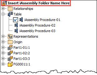 Autodesk Inventor iAssembly Members Folder Name