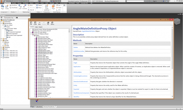 Autodesk Inventor API Documentation