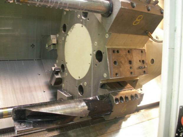Ft Walton Machining Iscar Drill on Lathe