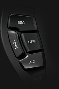 SpaceMouse Pro Wireless Keyboard Modifier Buttons
