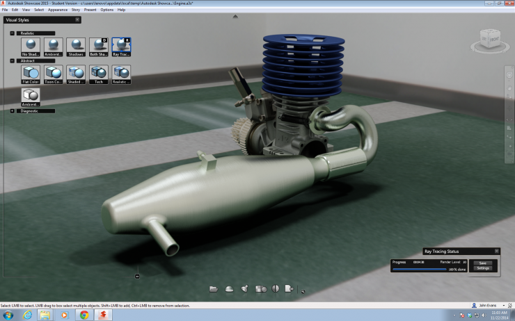 Showcase Engine Rendering for Workstation review