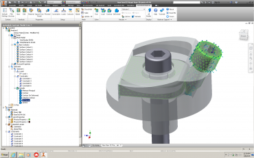 Autodesk Nastran In-CAD: Interface and Features