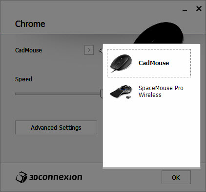 3DxWare 10 CadMouse & SpaceMouse Pro