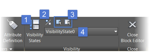 Dynamic Block Visibility - Visibility Panel