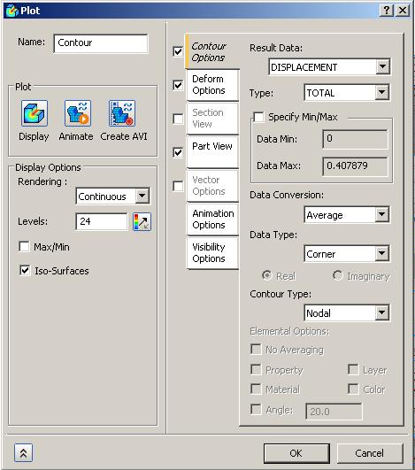 Autodesk Nastran In-CAD Display Options