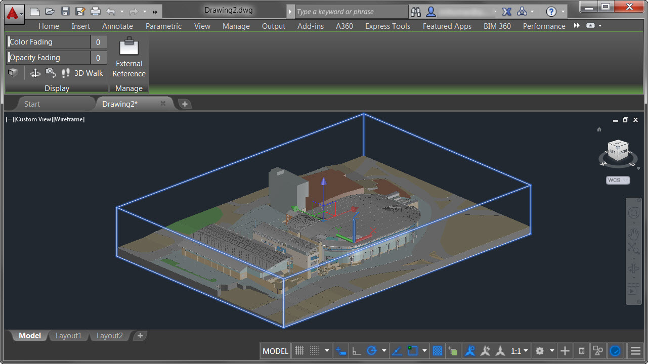 how to create a 3d model in autocad 2016