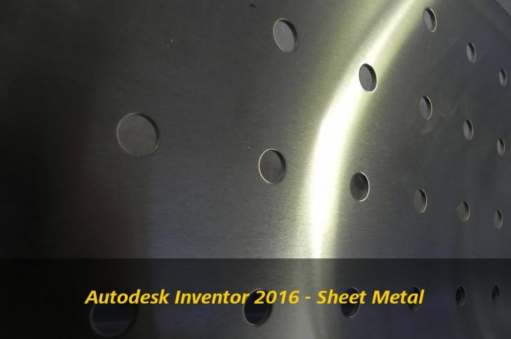 Autodesk Inventor Sheet Metal Enhanced Design Amp Motion