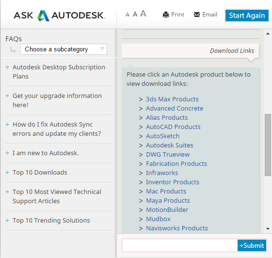 Autodesk Virtual Agent