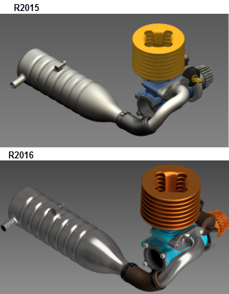 Inventor 2016 Studio Render Enhancements