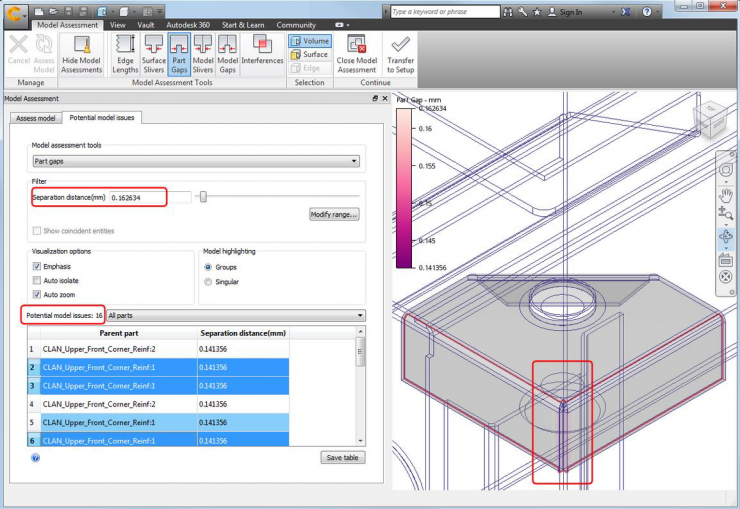 Autodesk CFD 2016 New Features and Error Detection