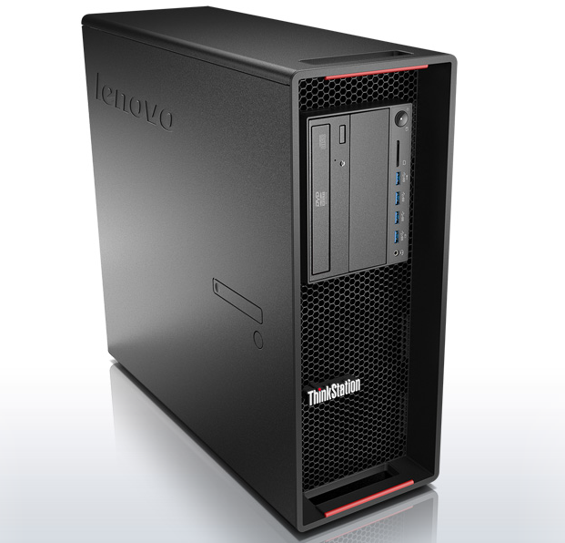 Lenovo ThinkStation P500 Front Review Image