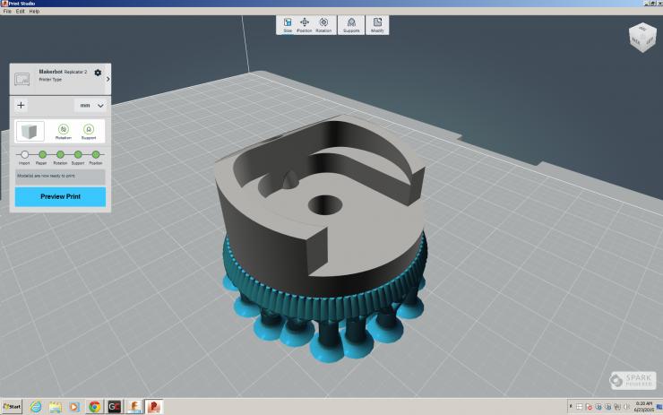 Autodesk Fusion 360 3D Print Studio