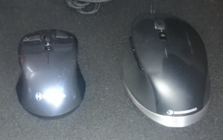 CadMouse vs Old Mouse