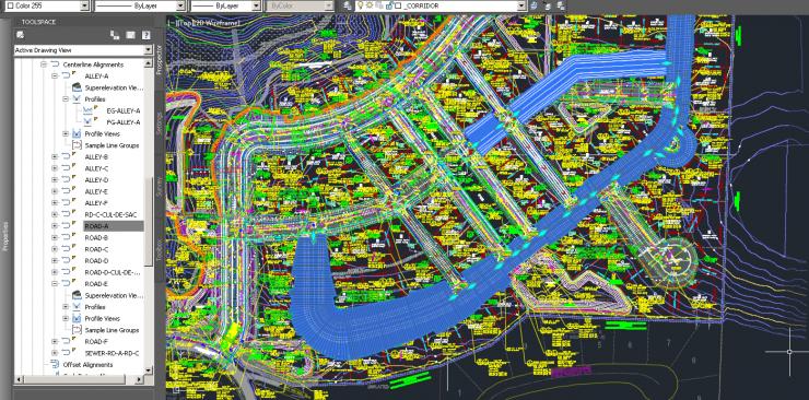 Autodesk AutoCAD Civil 3D Model View