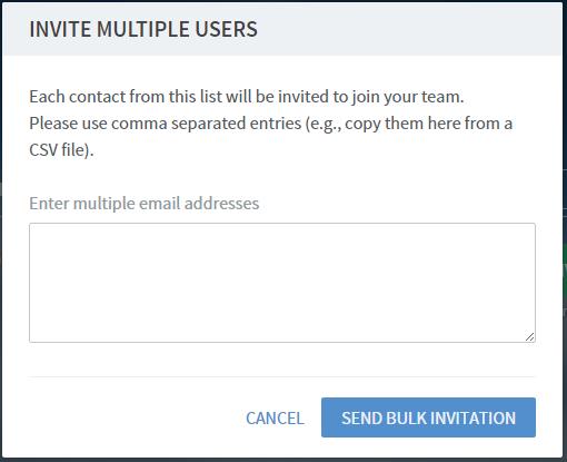 Frame - Invite Users in Bulk