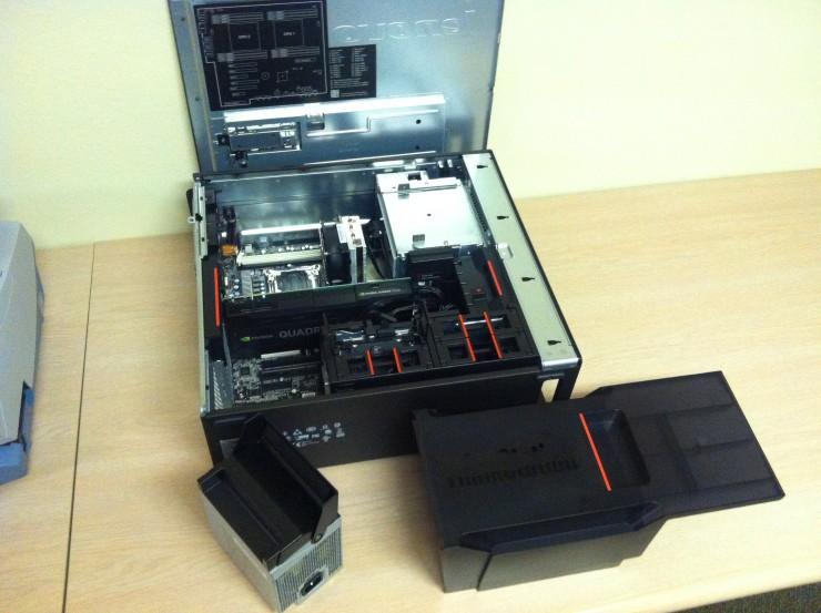 Lenovo ThinkStation P700 Workstation Internal View